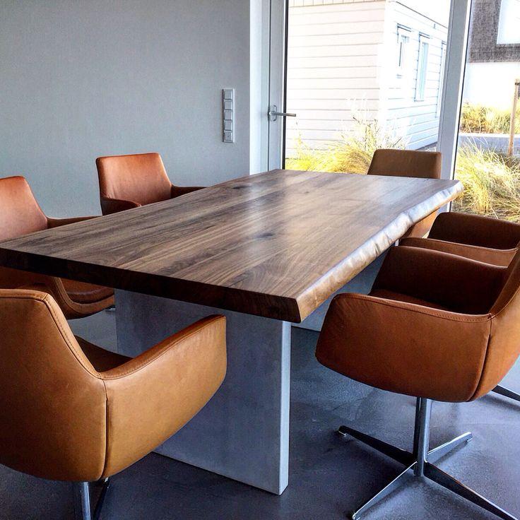 90 best images about massivholztische esstische dinningtable on pinterest esszimmer live edge. Black Bedroom Furniture Sets. Home Design Ideas