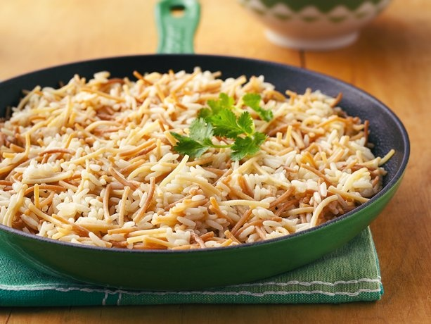 Rice with Pasta..sounds similar to Rice-a-Roni...but likely a fraction of the cost....and you can control the amount of sodium...which is sky high in Rice-a-Roni....
