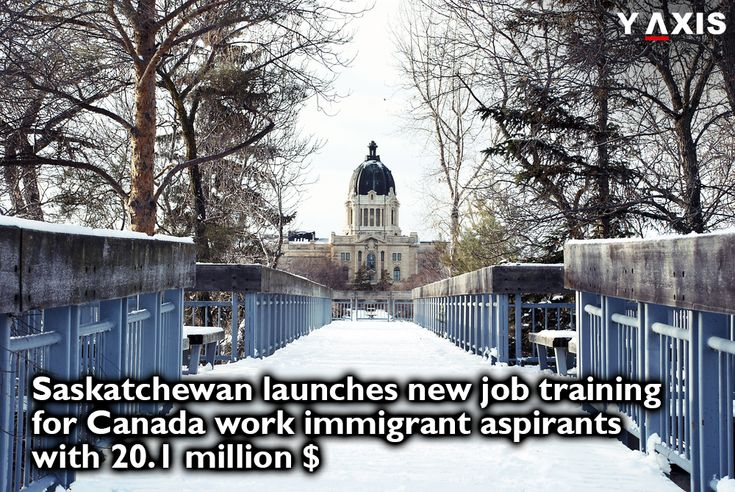 Saskatchewan province has launched new job training for #CanadaWork #Immigrant aspirants & 20.1 million dollars are available for training 6,000 job seekers in #Saskatchewan for fiscal years 2017-18. #CanadaImmigration #CanadaVisa #CanadaJobs #YAxisVisas