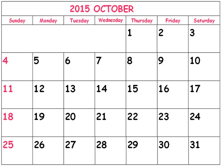 free printable 2015 calendar template - Besik.eighty3.co