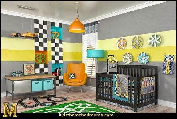 vintage garage bedroom decor | Decorating theme bedrooms - Maries Manor: baby bedrooms - nursery ...