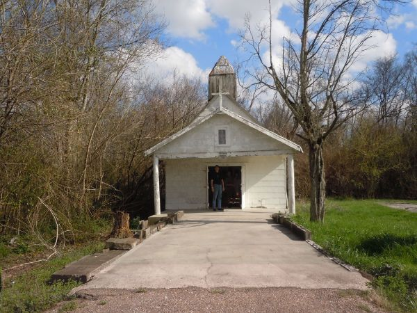 Chapel Of Saint Amico In Donaldsonville La Tony Musco Devotion To S Was Honor What The Devotees Believe An Arition Near