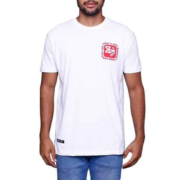 Kalash Clip White T Shirt front