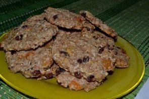 Хлебцы из овсянки с сухофруктами