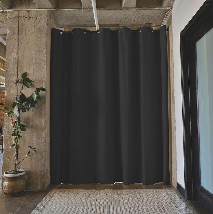 best 25 tension rod curtains ideas on pinterest kitchen curtains cafe curtains kitchen and. Black Bedroom Furniture Sets. Home Design Ideas