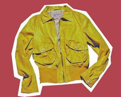 Marlboro Classic - Trendfarbe Gelb - gelbe Mode - Gelbe Lederjacke © Marlboro Classics Marlboro Classics, € 700, zum Store Locator von Marlboro Classics geht's hier...
