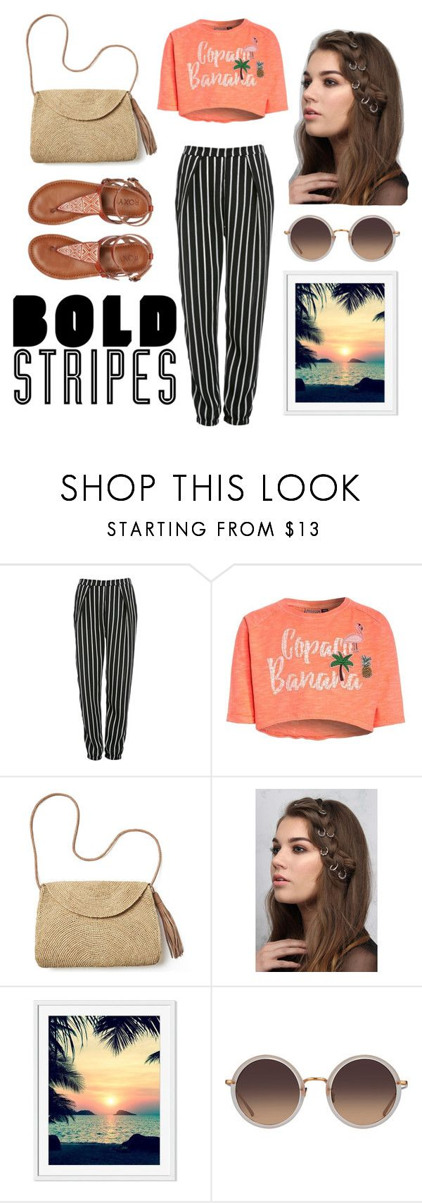 """""""Summer Street Style"""" by gladiadoraa ❤ liked on Polyvore featuring Glamorous, Mar y Sol, Rare London, Linda Farrow and Roxy"""
