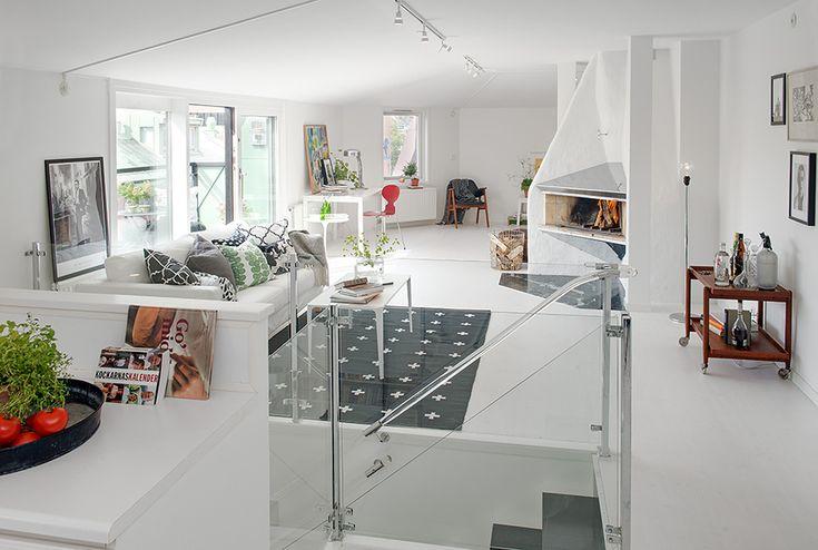 Exceptional Attic Duplex for an Idyllic Lifestyle in Gothenburg, Sweden