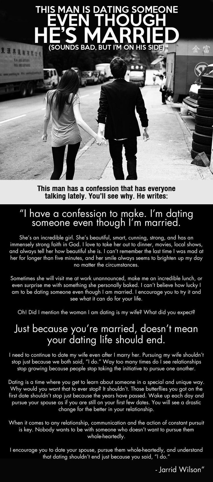 I m dating someone even though I m married…Man this is going so viral
