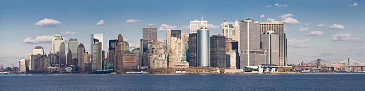 One of the cities I would like to visit - New York City.
