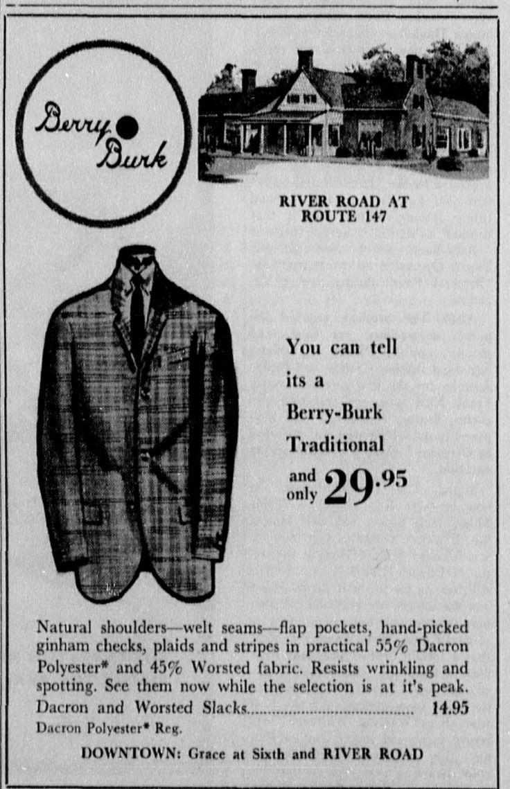 Berry Burk At River Road Ad In March 1961 Ur The Collegian Newspaper