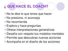 Resultado de imagen para que es el coaching ontologico