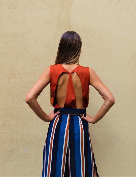 Harvey The Label / ECLIPSE BACKLESS TOP - Akagu