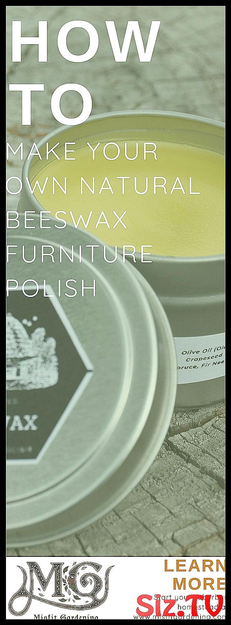 How To Make DIY Beeswax Furnishings Polish How To Make DIY Beeswax Furnishings Polish How To Make DIY Be…