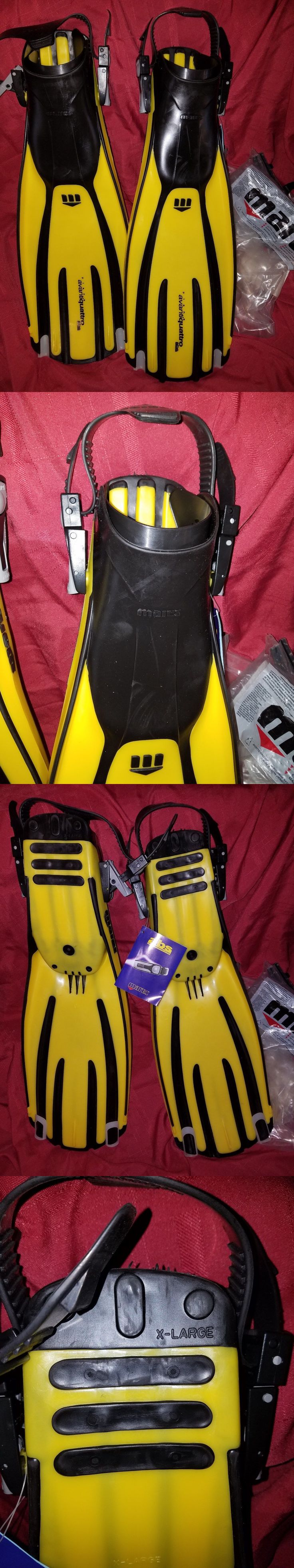 Fins 16054: Mares Quattro Fins Scuba Swim Snorkel Extra Large Yellow -> BUY IT NOW ONLY: $59.99 on eBay!