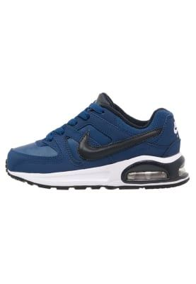Schoenen Nike Sportswear AIR MAX COMMAND - Sneakers laag - coastal blue/dark obsidian/black Donkerblauw: 69,95 € Bij Zalando (op 2/01/17). Gratis verzending & retournering, geen minimum bestelwaarde en 100 dagen retourrecht!