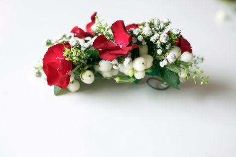 Do it yourself: Un tocado con flores frescas