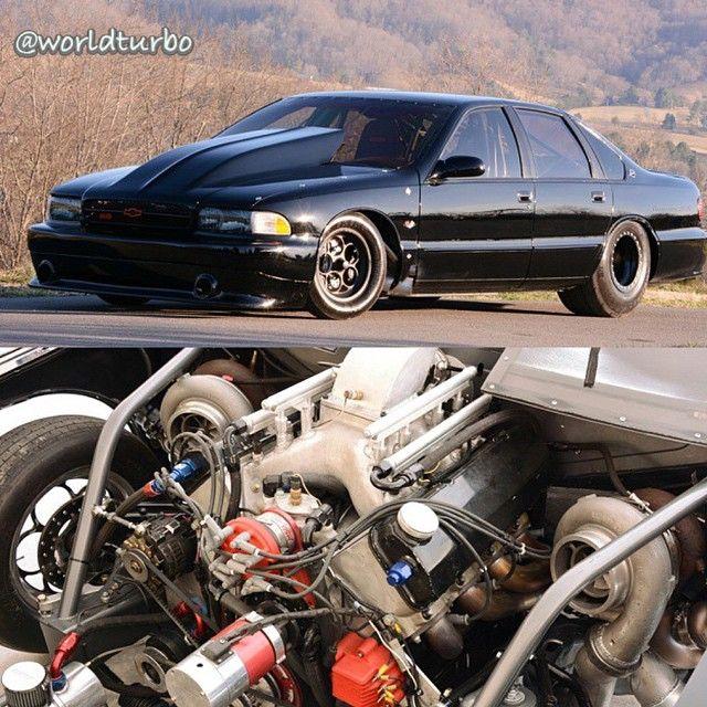 96 Impala Ss 540ci Big Block Twin Garrett Gt55 91mm