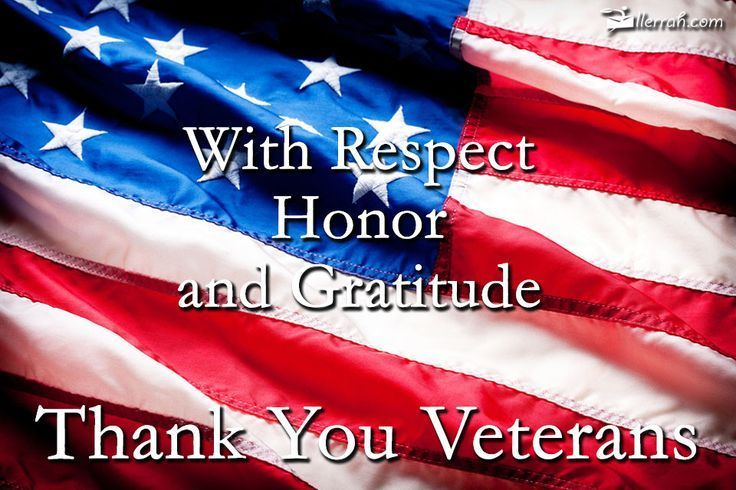 We are grateful for your service