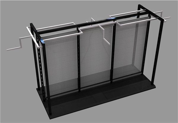 Retail Metal Clothing Store Display Gondola - Super U Shop Fitting Co., Ltd