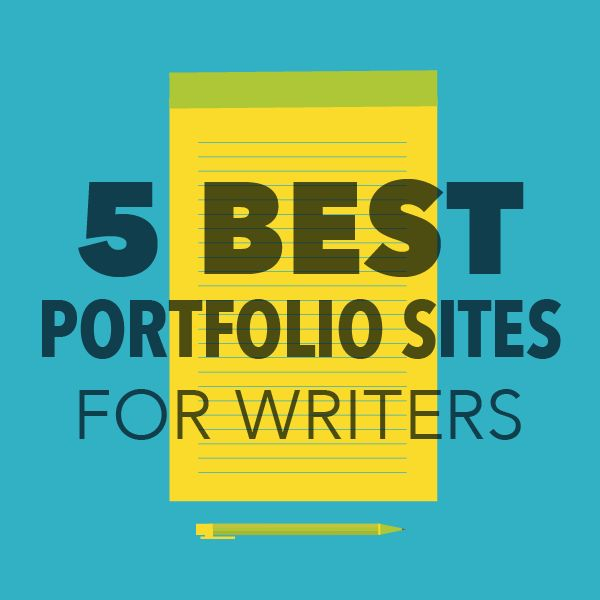5 best portfolio sites for writers