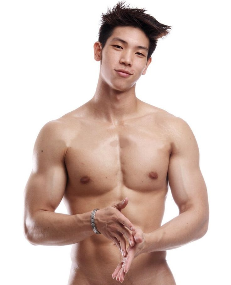 Naked korean guy models