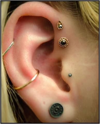 ear piercing images