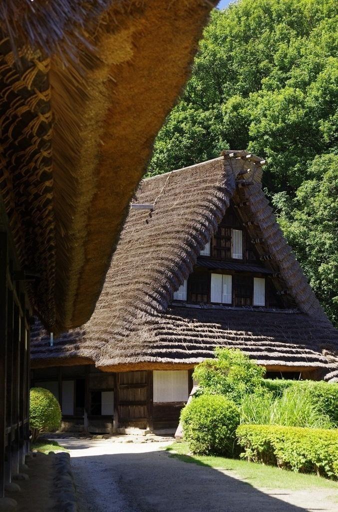Traditional Japanese farmhouses