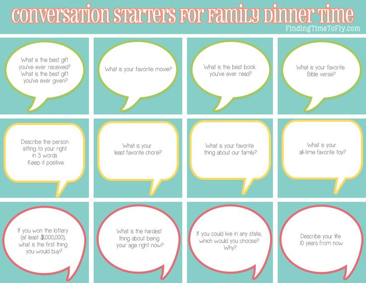 When you need a little extra help getting the conversation flowing, you are sure to find some great ideas with these 50 dinner conversation starters.