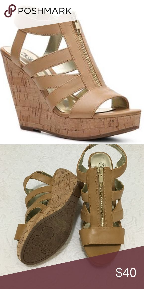 Carlos Santana Wedges Trendy Kaila style wedges ! Never worn ! It complements any attire  Carlos Santana Shoes Wedges