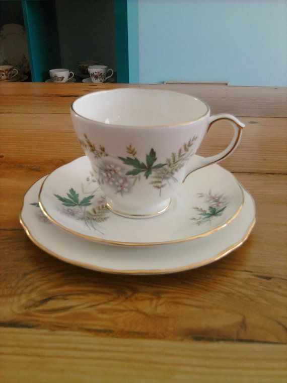 Vintage 'Duchess' high tea trio sweet floral by mytweehouse, $22.20