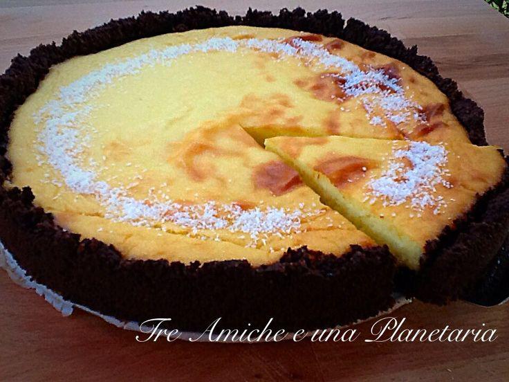 New York Cheesecake di patate e cocco