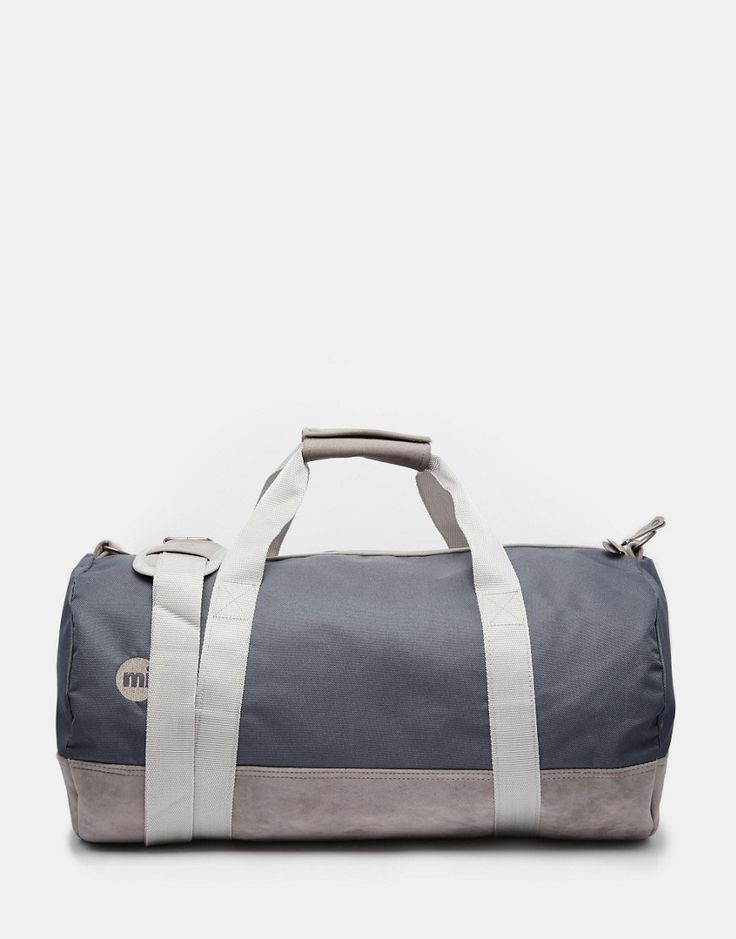 Mi-Pac+Classic+Barrel+Bag+In+Grey