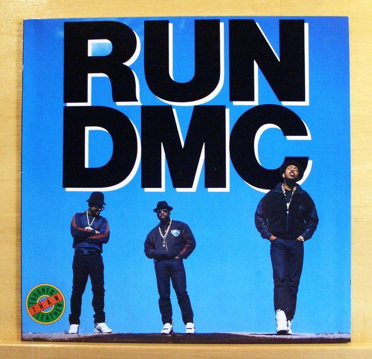 RUN DMC Tougher than Leather  Vinyl LP Run s House Beats to the Rhyme Mary Mary