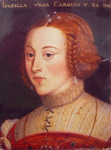 Isabelle de Portugal, impératrice d'Allemagne, reine d'Espagne, par Anton Boys dit Waiss