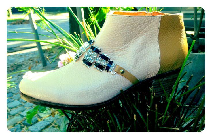 Sparkle Curry Boot miki&choya #miki&choya #sparkle #embellished