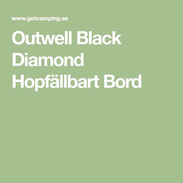 Outwell Black Diamond Hopfällbart Bord