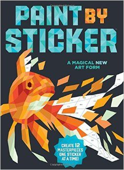Paint by Sticker: Create 12 Masterpieces One Sticker at a Time!: Workman Publishing: 9780761187233: Amazon.com: Books