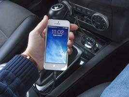 oplad mobilen i bilen via en usb oplader | Shopsites.dk