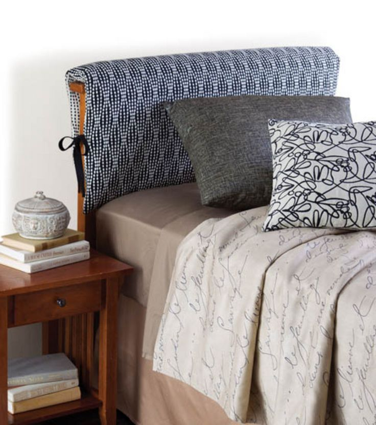 Slipcovered Headboard With Grommets Google Search