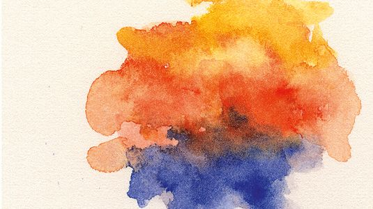 Watercolor technique: Scumbling: Simply lay in semi-wet strokes of paint in watercolour. As you apply more color, be careful to keep adding water so the colours blend and stay soft. It can be easy to overwork and produce a muddy look, so less is more.