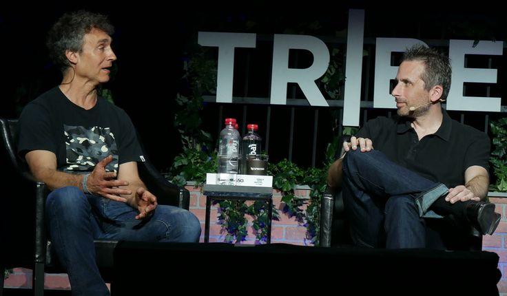 [Left] Doug Liman, movie director (Edge of Tomorrow,. [Right] Ken Levine, game developer (BioShock)