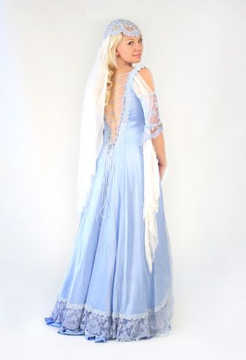 Medieval and Celtic Wedding Gowns | Custom Storybook Wedding Gowns | Canadian, Maritime, Fairytale | Faerie Brides | Christina Gown