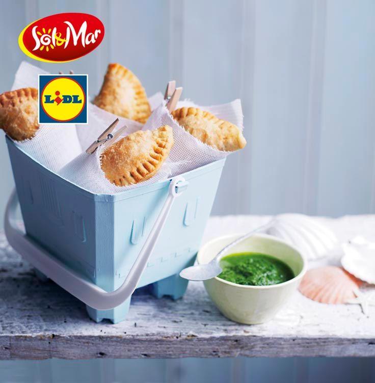 Empanady z salsa verde. Kuchnia Lidla - Lidl Polska. #lidl #solandmar #empanadas