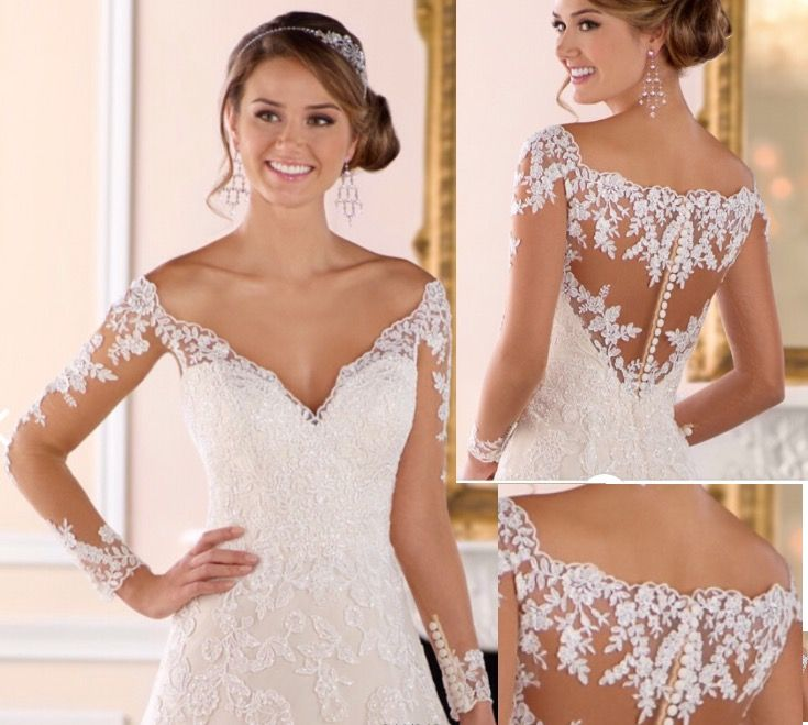 Detachable Underbodice Skin Colored Very Fine Tulle Liquéd With Lace To F Cover Ups Bridal Wear Toppers Boleros Underbodices Overbodices In