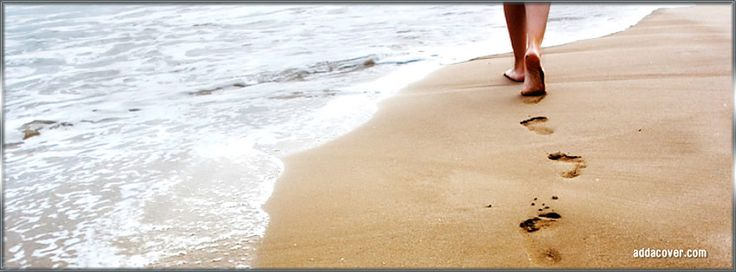 Walking On The Beach Facebook Covers, Walking On The Beach FB Covers, Walking On The Beach Facebook Timeline Covers, Walking On The Beach Facebook Cover Images