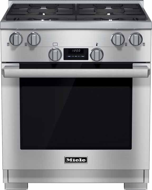 """Miele 30 inch professional range hr1124 30"""" for apartment"""