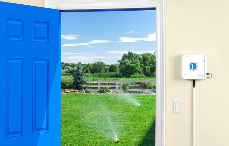 Rachio Iro - The smart sprinkler controller Automated Sprinkler Controller, Wi-Fi Sprinkler Controller, Irrigation Controller