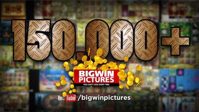 Over 150.000 BigWinPictures slot video views in our Youtube channel! http://www.youtube.com/user/BigWinPictures/featured