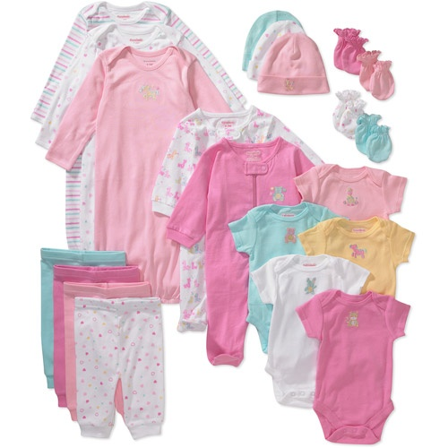 21 piece Layette Set $35.00 at Wal-Mart
